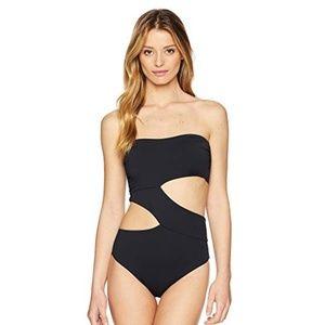 Volcom simply seamless one-piece swimsuit sexy xs